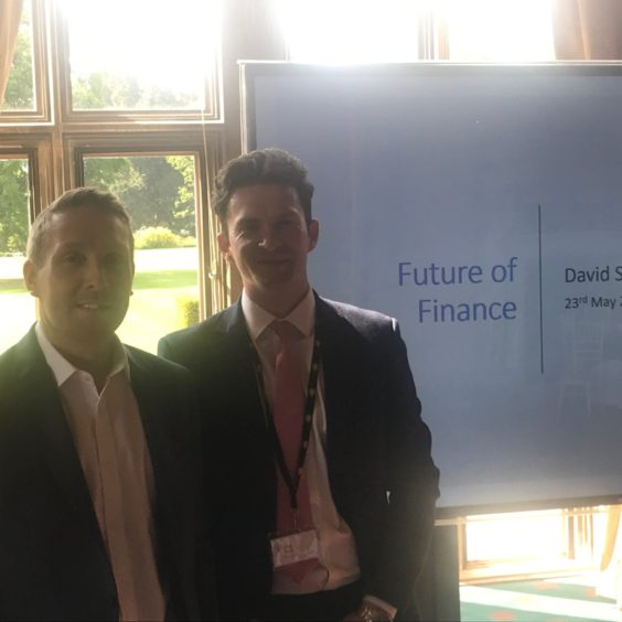 The future of finance on 23 My presented by MRK Associates and David Stibbs of Britvic