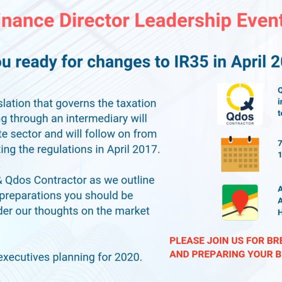 Are you ready for IR35 changes in April 2020