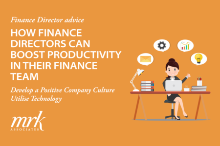 How Finance Directors Can Boost Productivity in Their Finance Team